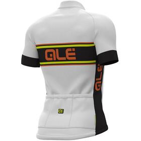 Alé Cycling Solid Vetta Short Sleeve Jersey Men white-black